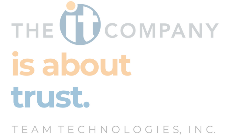 The IT Company is About Trust