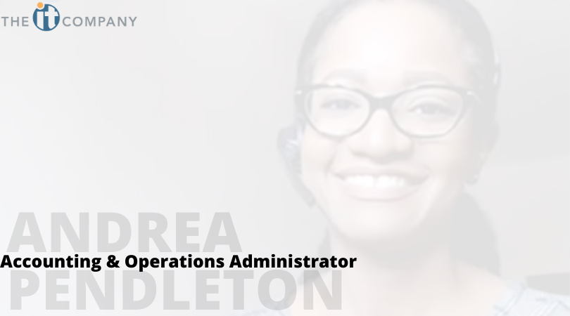 Welcome to The IT Company, Andrea Pendleton!