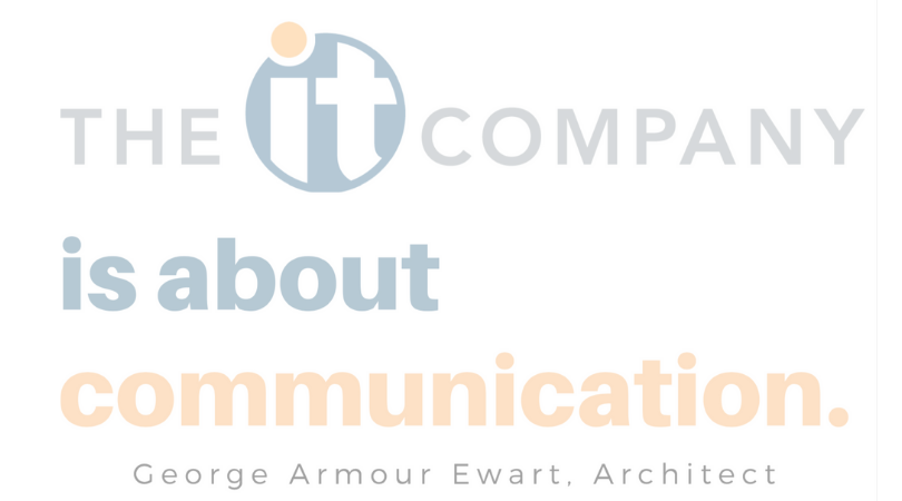 The IT Company is About Communication